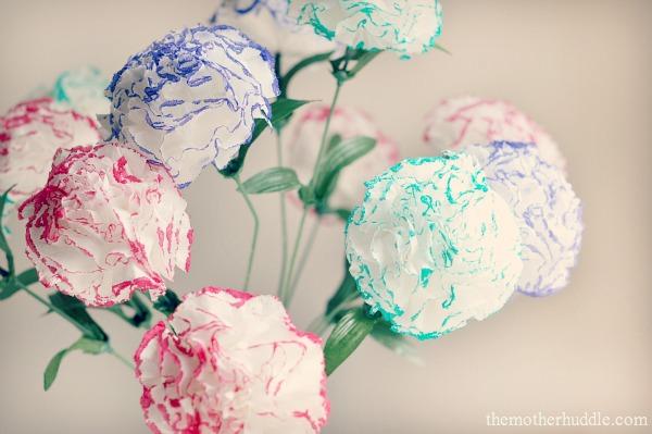 Paper tissue flowers simply sepi simple kleenex flowers mightylinksfo